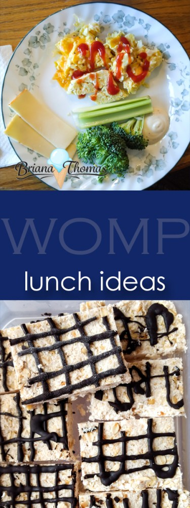 """Check out today's post for some THM-friendly lunch ideas """"in real life""""! I decided to just do lunch this week since I'm heading to Africa on Thursday."""