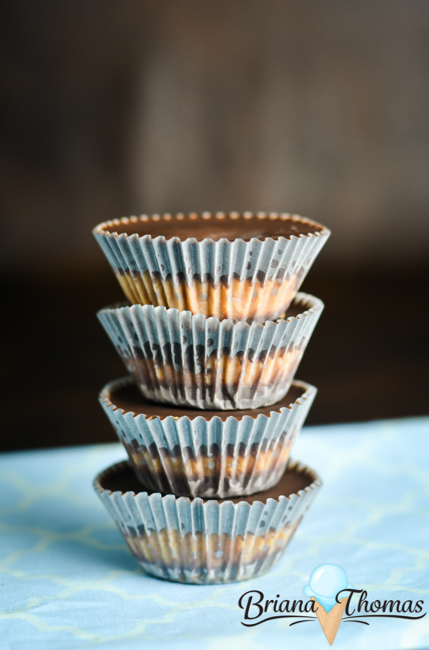 These low-carb peanut butter cups are easy to make and don't require a lot of ingredients! THM:S, sugar free, gluten/egg/dairy free