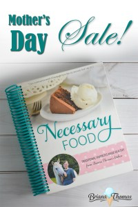 My Cookbook Is on Sale for Mother's Day!