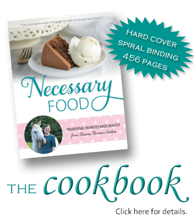 Necessary Food - www.briana-thomas.com