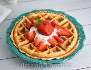 Strawberry Shortcake Waffle