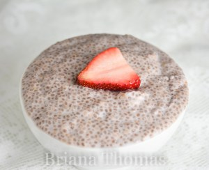 "Strawberry Chia ""Tapioca"""