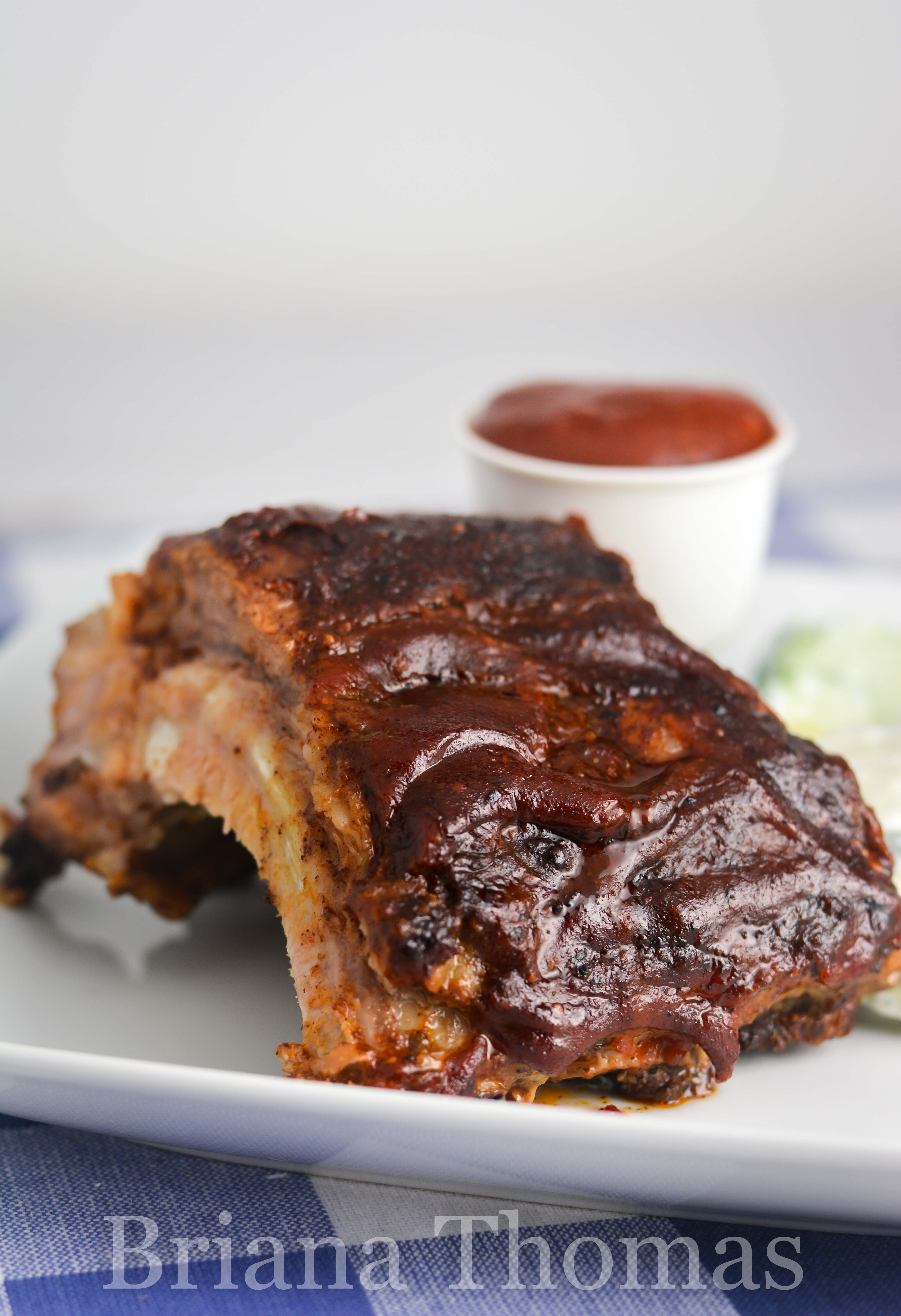 Bri's Kickin' Barbecue Sauce is a thick sauce perfect for basting your favorite grilled meats! THM Fuel Pull, low carb, low fat, no sugar added