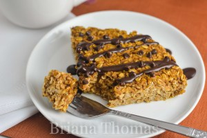 Pumpkin Chip Baked Oatmeal