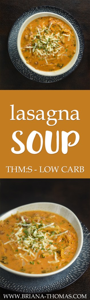 This hearty Lasagna Soup has all your favorite comfort food flavors but is easy on the budget! THM:S, low carb, gluten free, egg free, nut free