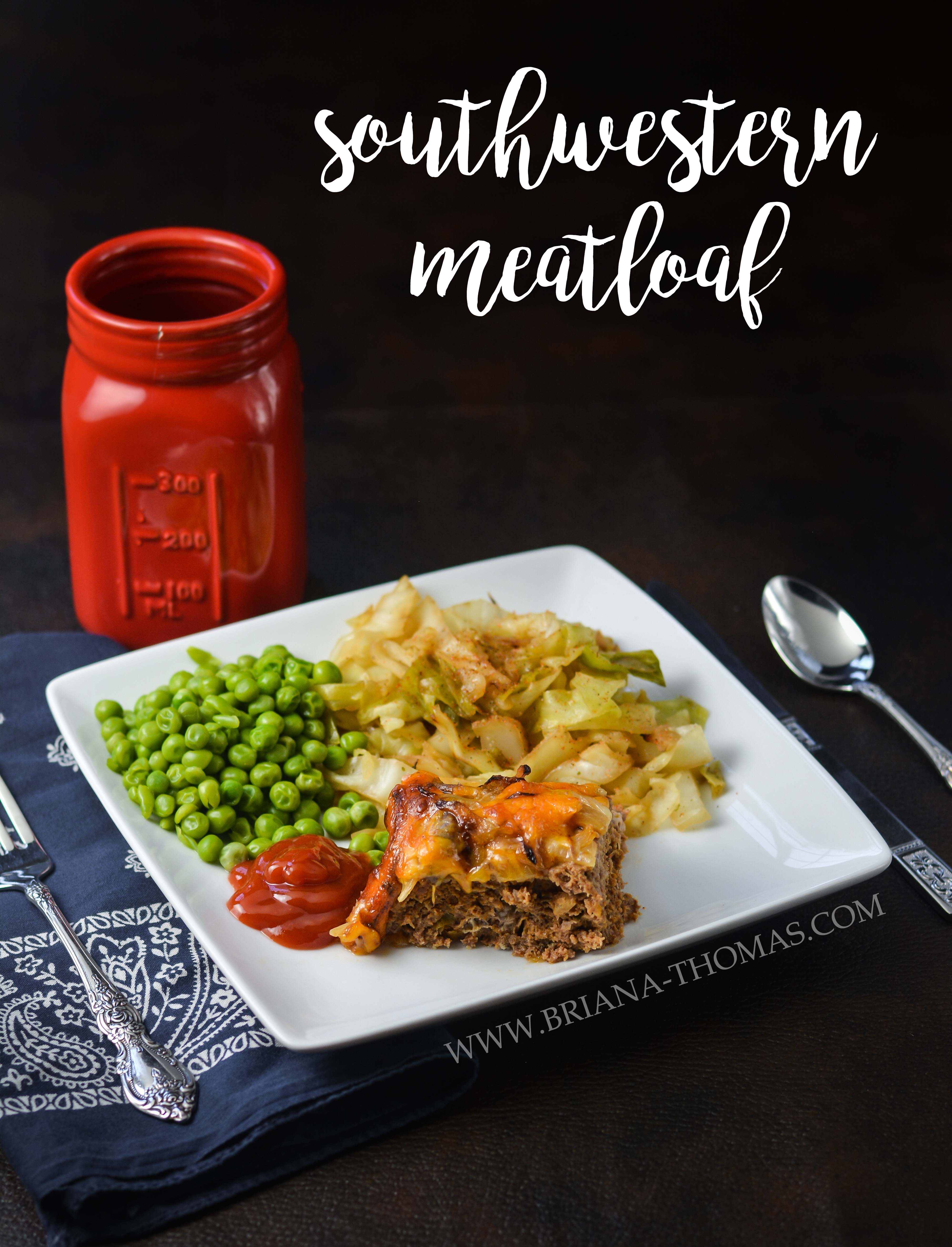This Southwestern Meatloaf has a mouthwatering topping of fried onions and cheese that bubbles deliciously in the oven! THM:S, gluten/nut free, low carb