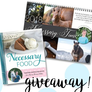 GIVEAWAY: Enter to Win One of My Cookbooks and Calendars!