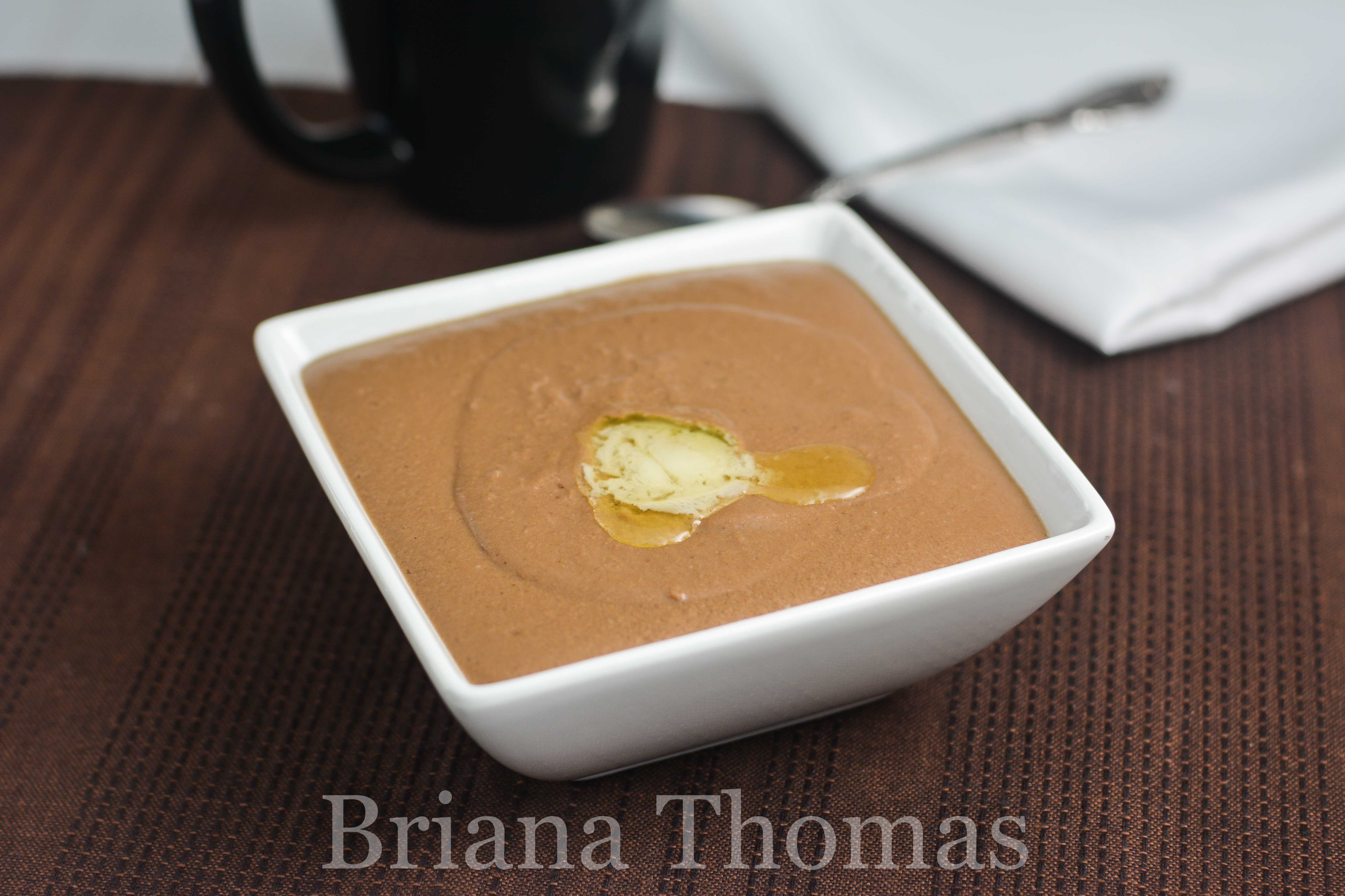 This smooth, silky Hot Chocolate Custard is perfect for a warming breakfast! THM Deep S (Fuel Cycle friendly!), low carb, sugar free, gluten/dairy/nut free