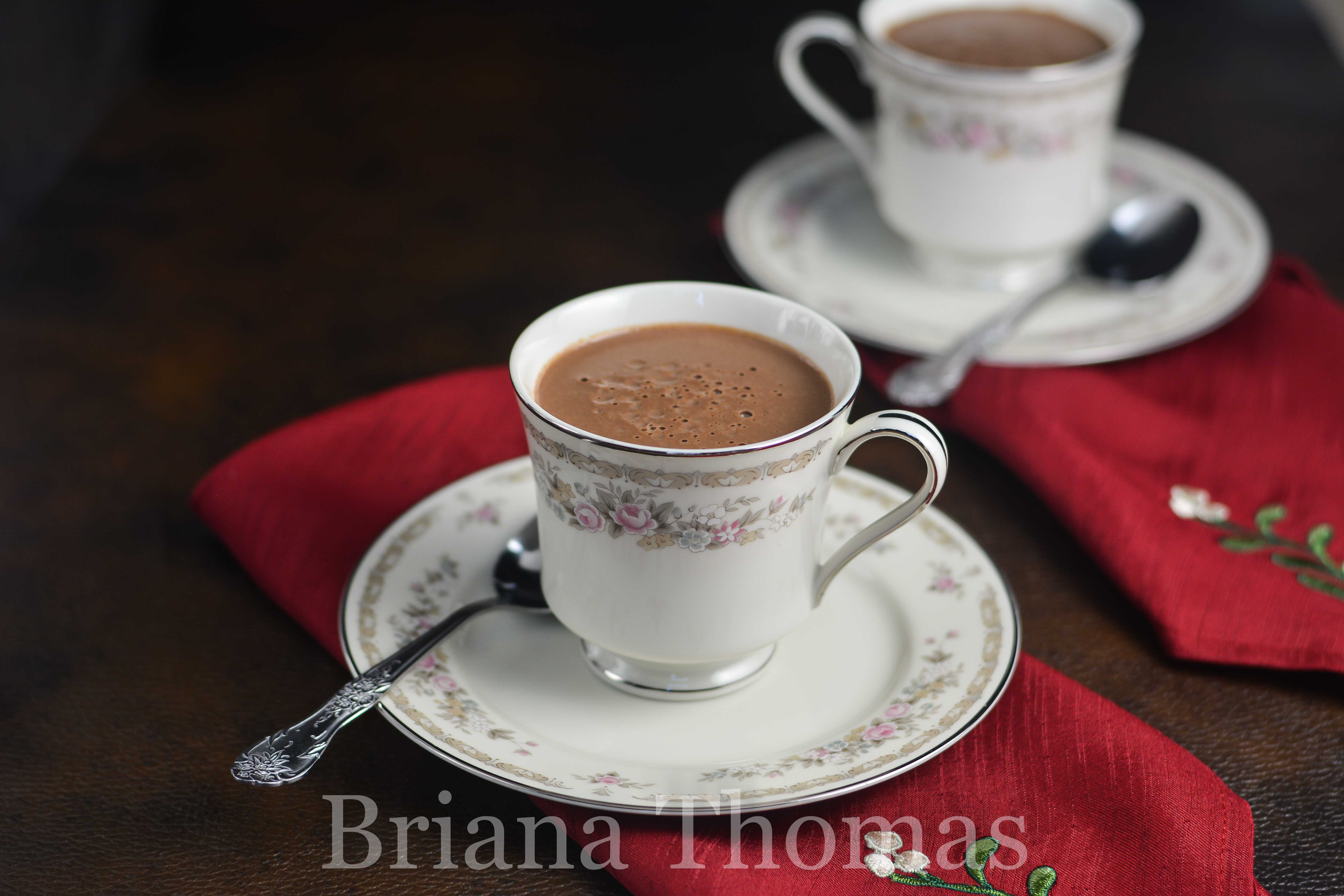 This Drinkable Chocolate Custard is hot chocolate amazingness! THM:S, low carb, sugar free, gluten free (with nut free option)