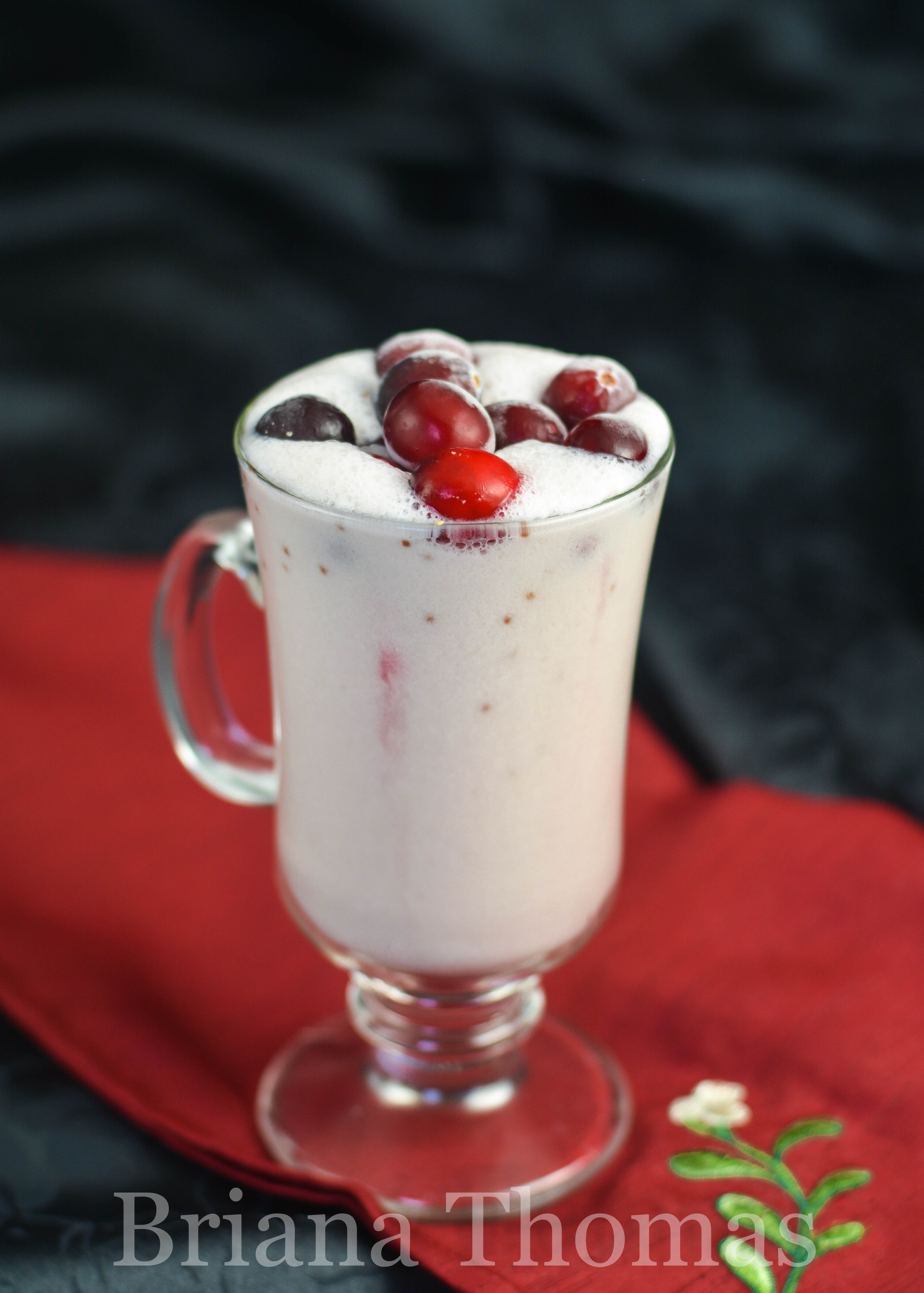 This fat-stripping Cranberry Nog uses my new favorite weight loss ingredient - glucomannan - to create a thick, filling drink! THM FP, allergy friendly
