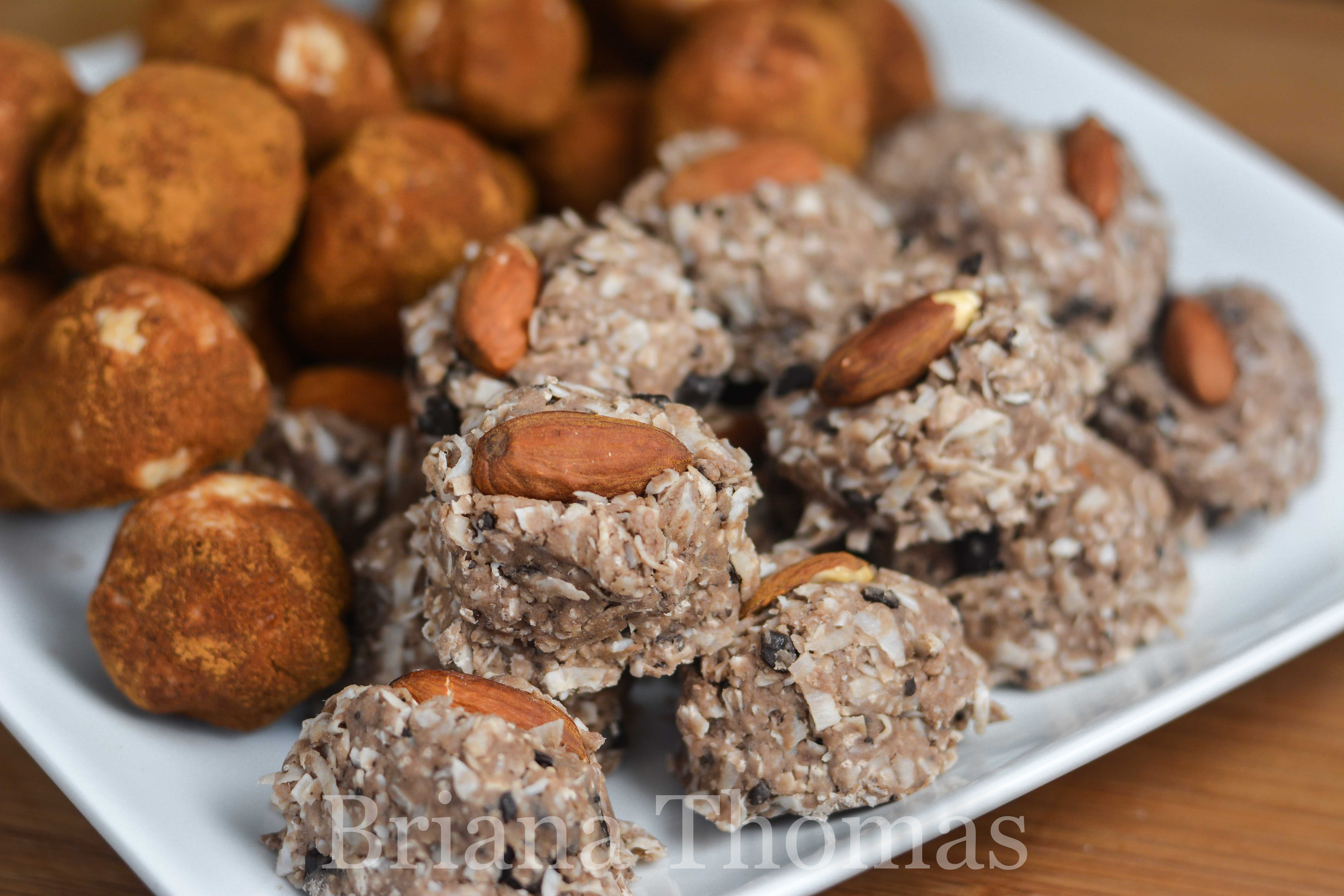 These Joyous Almond Bites are a low-carb, sugar-free tweak off of the popular Almond Joy candy bar! THM:S, gluten/egg/dairy free with nut free option