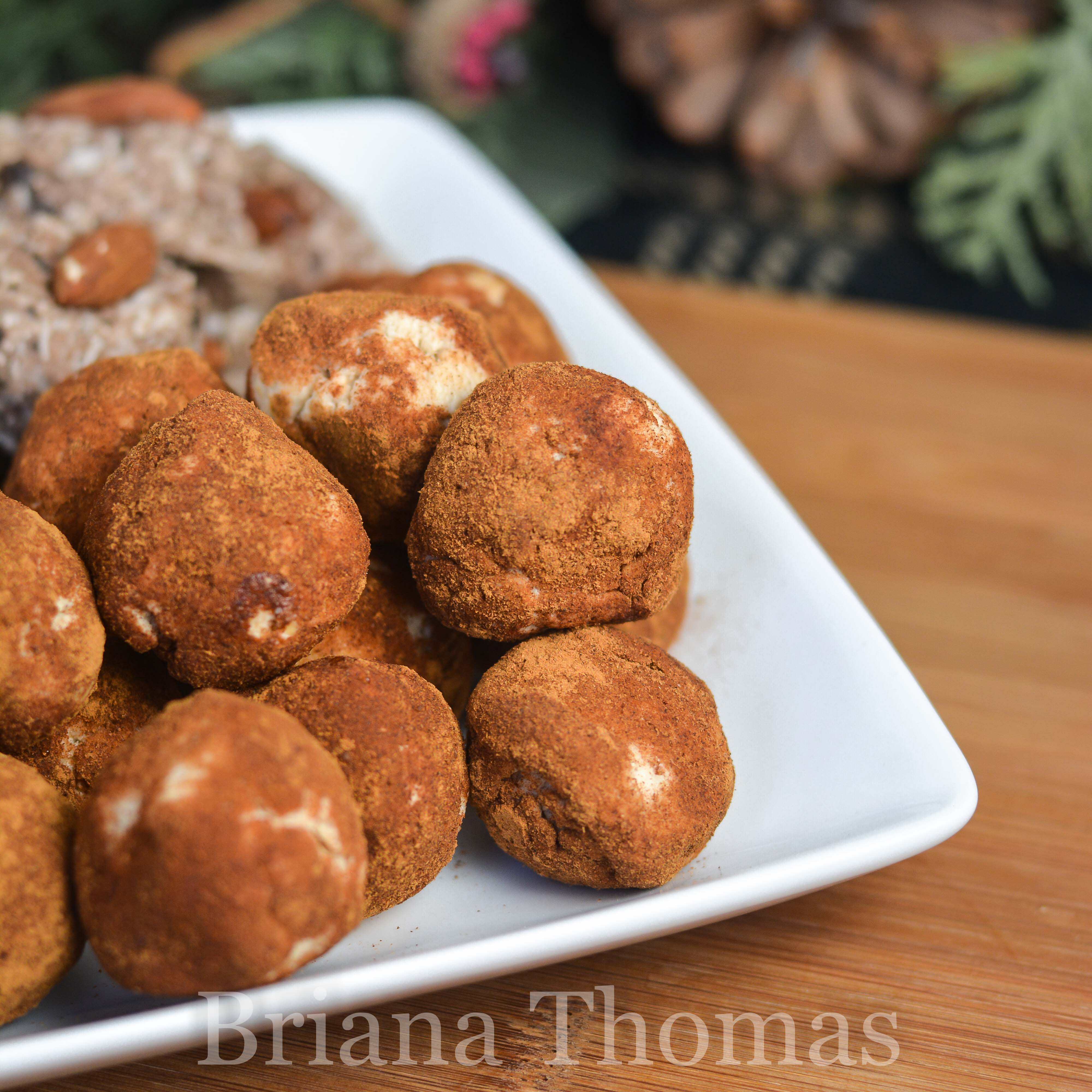 These Snickerdoodle Truffles taste like raw snickerdoodle or cinnamon roll dough! THM:S, low carb, sugar free, gluten/egg/nut free