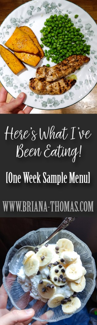 If you liked the recent Trim Healthy Mama strategies I shared that have been working for me, check this post out! Here's what I've been eating, in a one-week sample menu form! I'm implementing those strategies I talked about while in the middle of a very busy wedding planning/working/moving schedule.