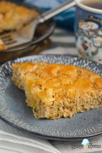 Pineapple Rightside-Up Baked Oatmeal