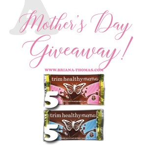 A THM Chocolate Bar Giveaway for Mother's Day!