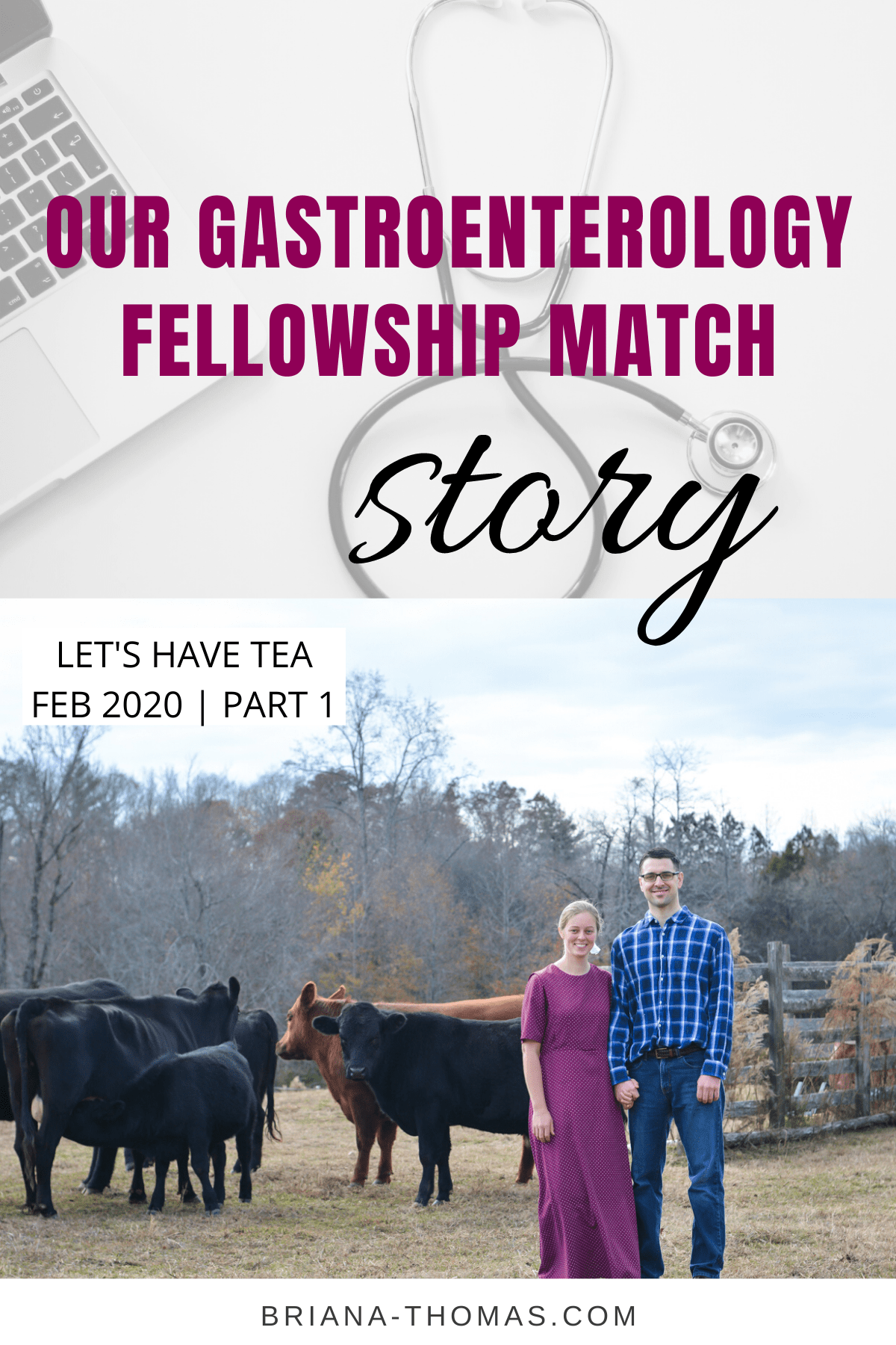 Our Gastroenterology Fellowship Match Story - Briana Thomas