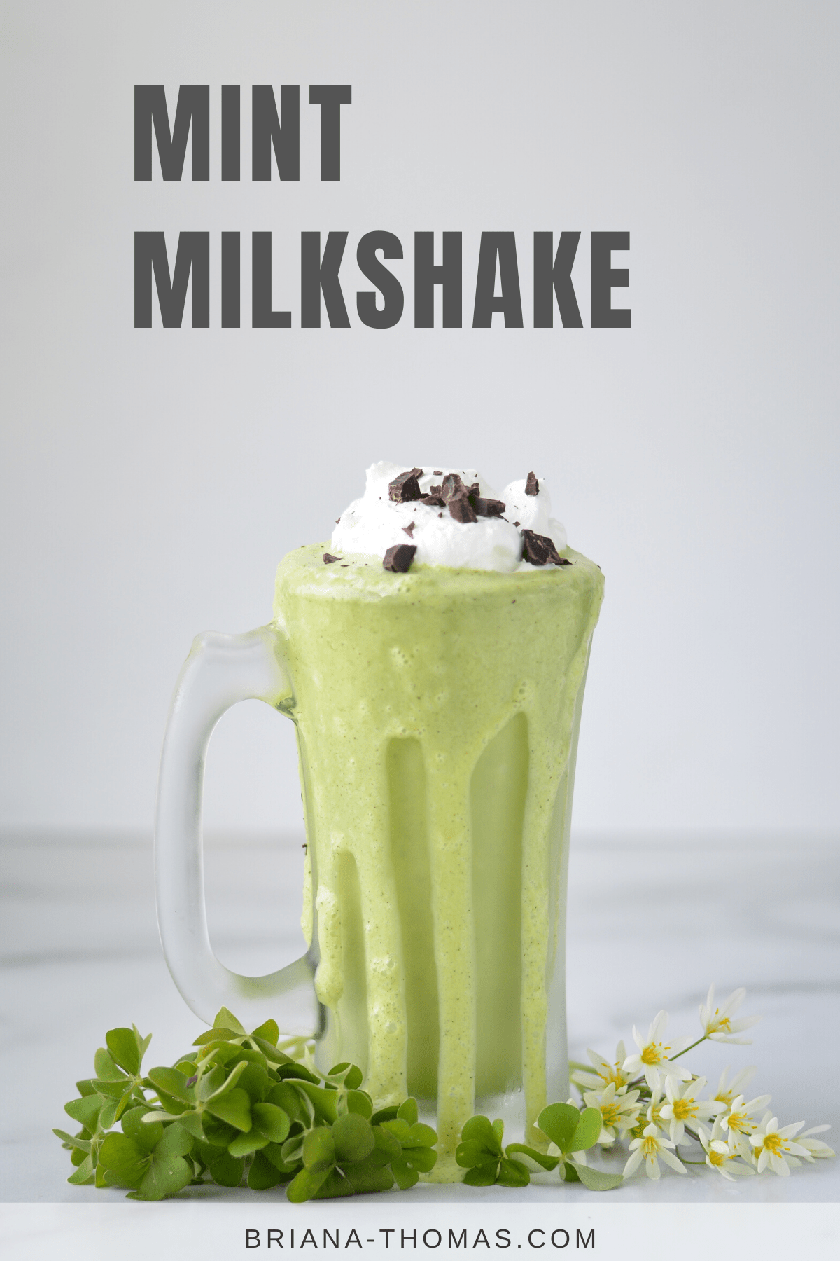 Low Carb Mint Milkshake - THM S