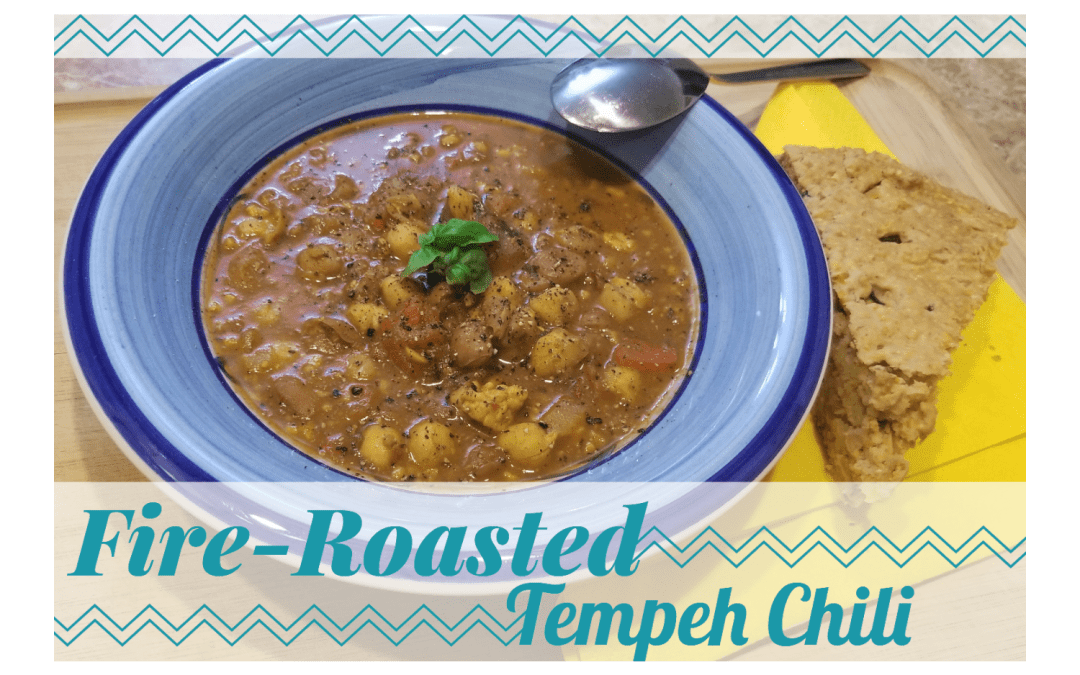 Fire-Roasted Tempeh Chili