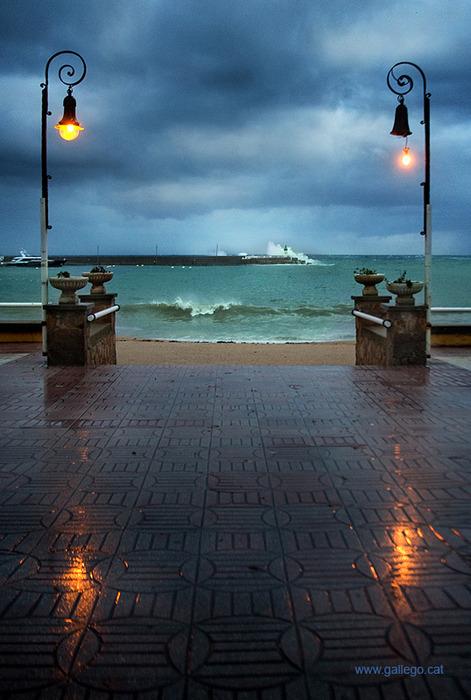 Port of Sant Feliu, Catalonia, Spainphoto via yas