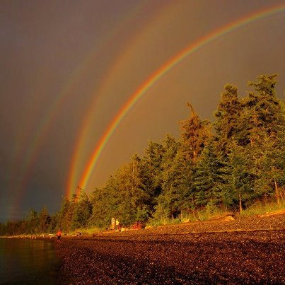 Quadruple Rainbow, Minnesota