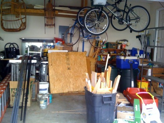 Time To Clean Out the Garage