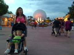 End of the Day @ Epcot