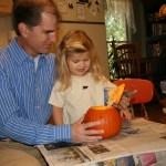 Carving the Pumpkin