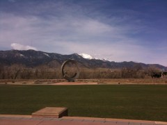 America the Beautiful Park with Pikes Peak