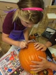 Detail Pumpkin Work