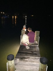 fishing with daughter