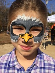 Eagle Face Paint