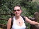 Karen Allen on Barr Trail