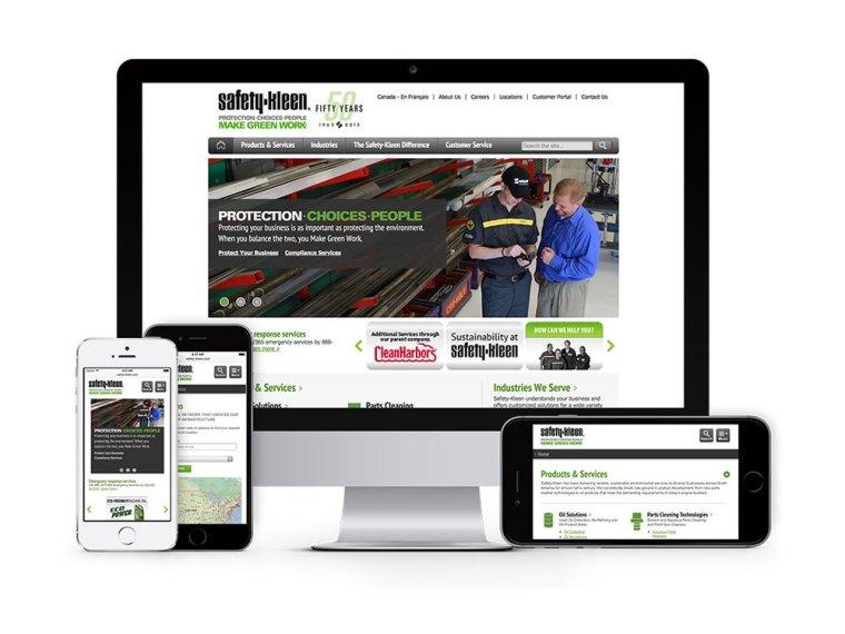 Safety-Kleen website screenshot