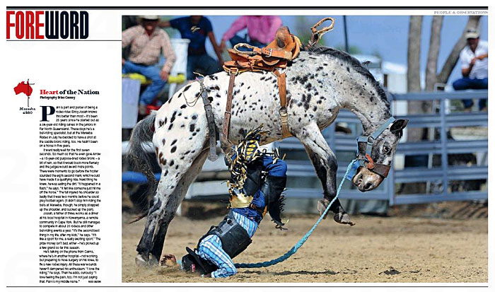 Mareeba Rodeo Elroy Josiah Arrow