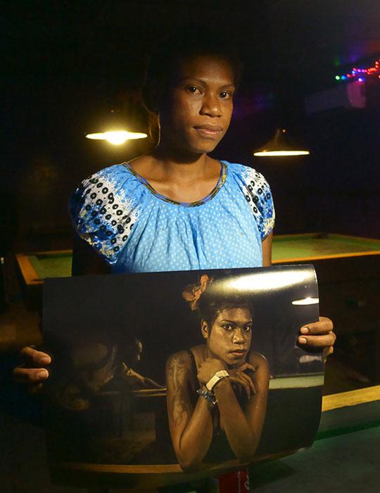 Disko Meri - Julie - Diamond Club - PNG - Print - Brian Cassey