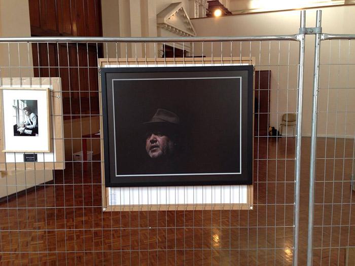 Martin Kantor Portrait Prize - exhibition rehang - Ballarat International Foto Biennale - Brian Cassey
