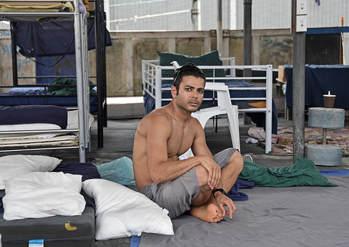 """Inside Manus Detention Centre"" - The Fox Gallery Melbourne - by Brian Cassey"