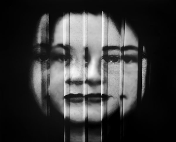 Trinity Bay High School Photographic Portrait Prize - Junior Winner - Fragmented by Kelli Baker