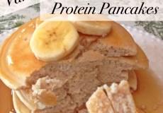 Vanilla Whey Pancakes