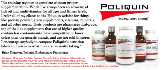 Poliquin Nutritional Supplements