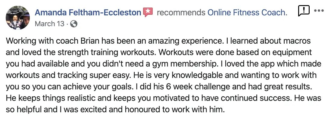 Brian Donovan Fitness Reviews