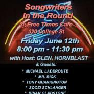 Nashville Bound Concert June 12 @ Freetimes Cafe