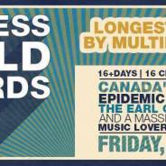Guinness Book of World Records Longest Concert Attempt!