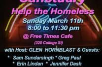 Nashville Bound Homeless Benefit March 11 2018