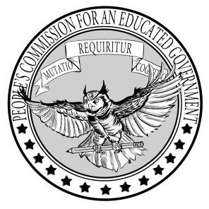 PCEG Seal - Designed by Edwin Breton