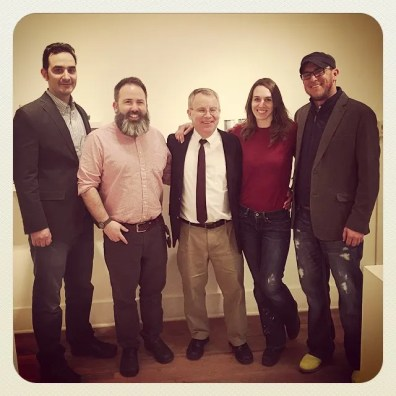 Me in Lincoln, Nebraska with Mark Cole, Pete Pinnell, Amy Smith, and Eric Stearns