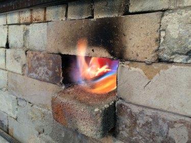 Soda kiln - first firing