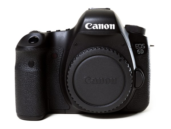 Canon 6D front view