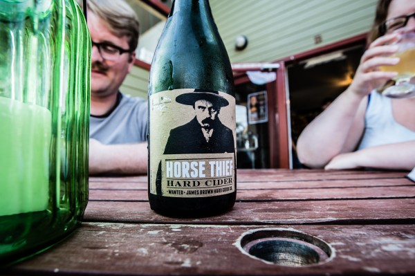 bottle of cider