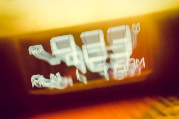 digital clock | photograph by Brian J. Matis